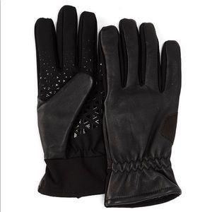 🔥NWT U|R POWERED Men'sLeather &Touchscreen Gloves